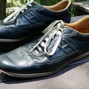 Black Hermes Sneakers